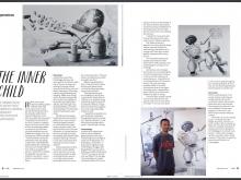 Nyaman Gallery on Hello Bali Magazine September 2016