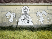 Evgeny Bam's Mural at Canggu