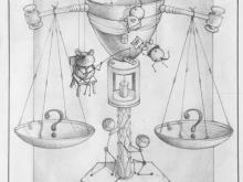 Ketika Hukum Mulai Digoda - sketch