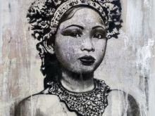 Silver Balinese Dancer
