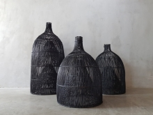 <strong>Woven Bamboo Fish Traps</strong>
